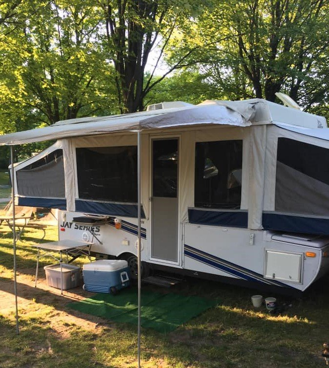 A Quick and Easy Refresh on a Humble Pop Up Camper