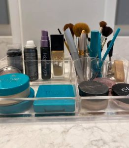 The Coordinated Home - Bathroom Makeup