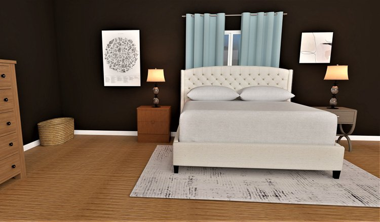 Bedroom Rendering