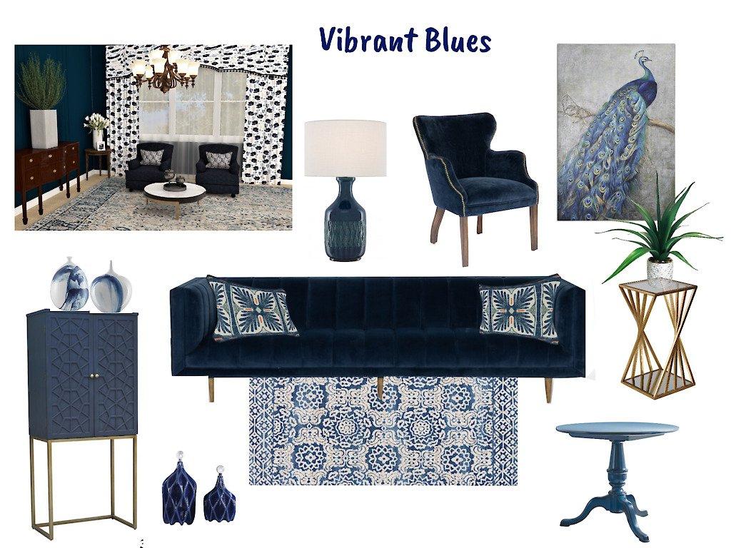 Vibrant Blues